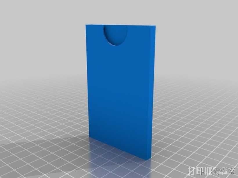 Turbografx-16游戏机 游戏碟盒子 3D模型  图2