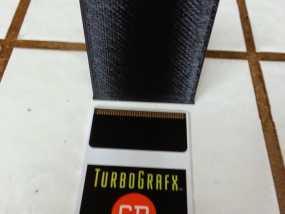 Turbografx-16游戏机 游戏碟盒子 3D模型