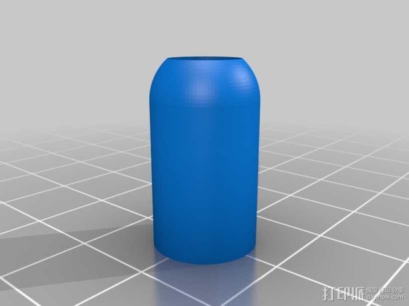 笔记本电脑电缆接头保护器 3D模型  图5
