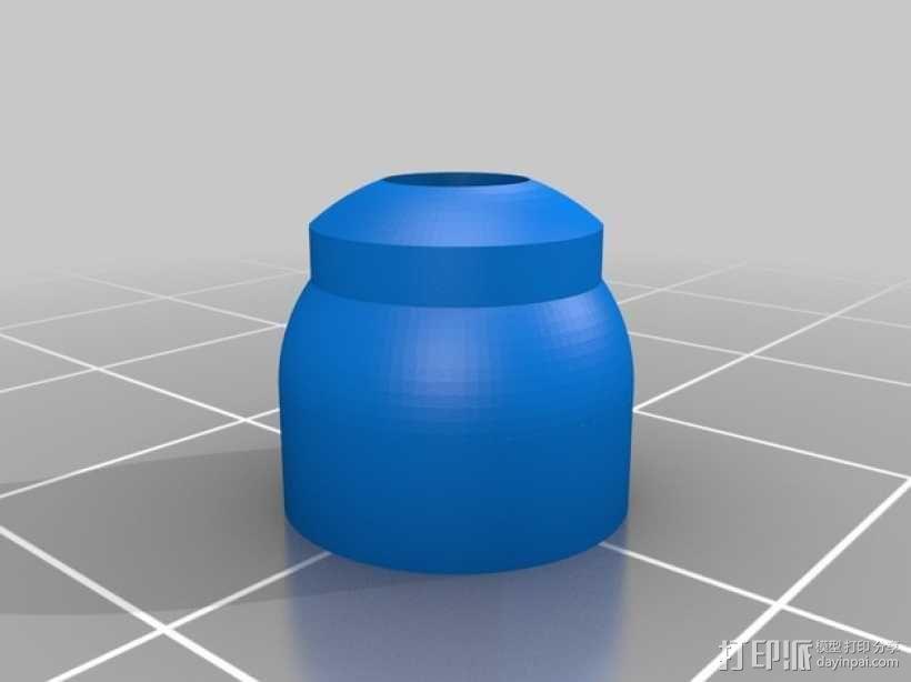 笔记本电脑电缆接头保护器 3D模型  图6