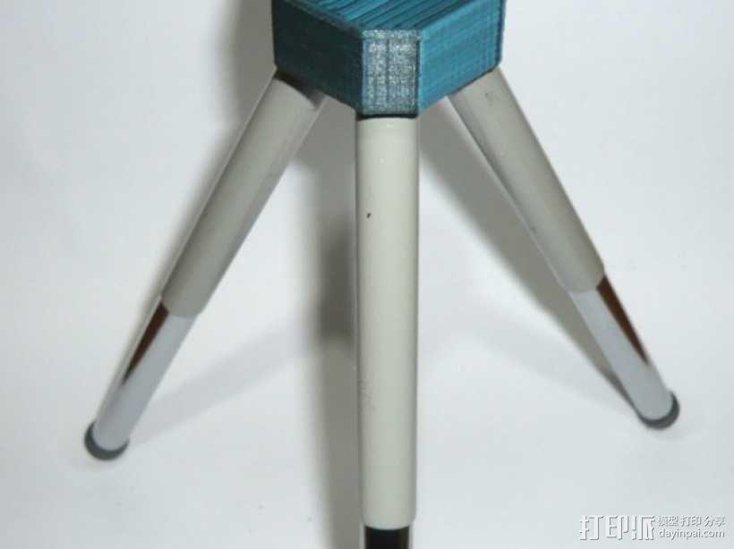 迷你三脚架 3D模型  图1