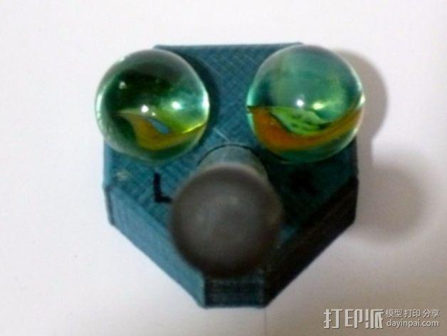 迷你三脚架 3D模型  图4
