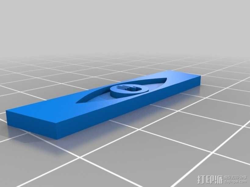 摄像头罩 3D模型  图3