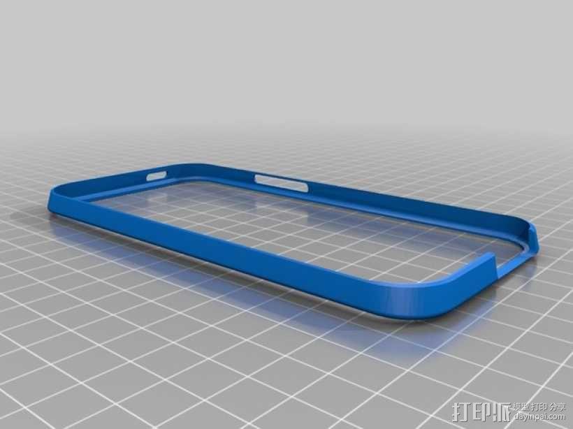 HTC One手机外框保护壳 3D模型  图1