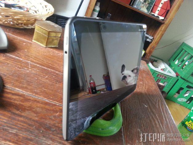 花托形平板电脑支撑架· 3D模型  图4