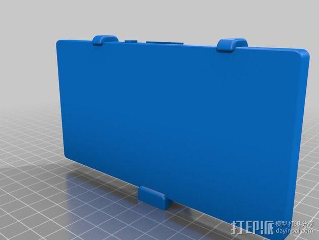 车载式索尼Sony Xperia Z手机支架 3D模型  图2
