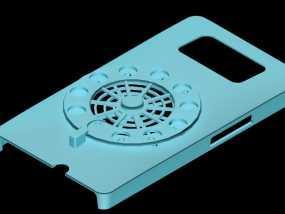 HTC HD2手机保护壳 3D模型