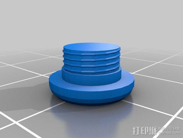 HTC HD2手机保护壳 3D模型  图2
