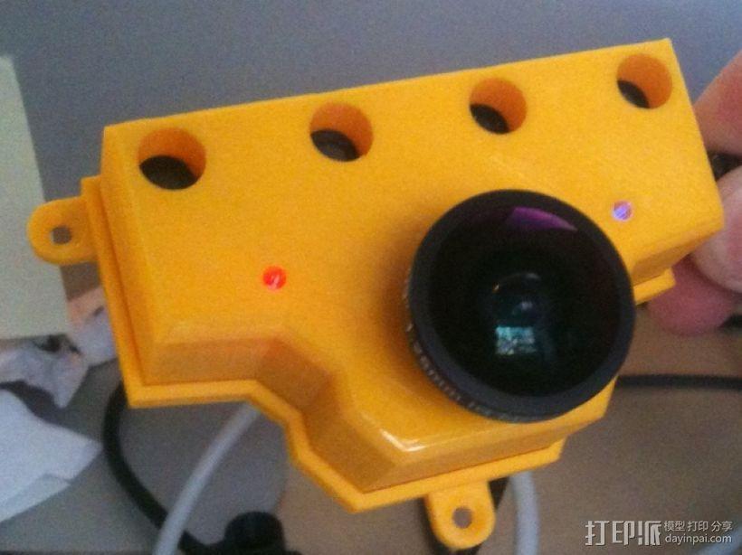 PS3游戏机摄像头 3D模型  图1
