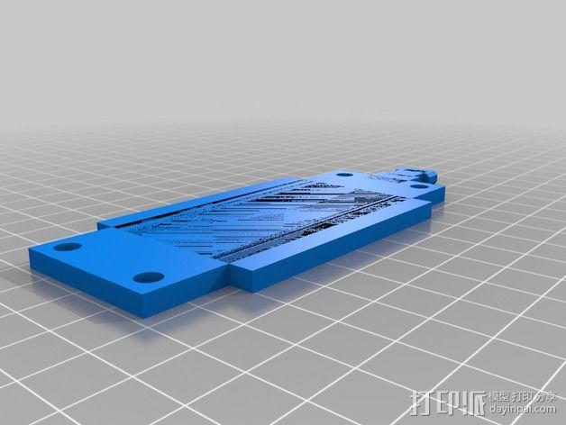 车载式Nexus 5手机充电座  3D模型  图5