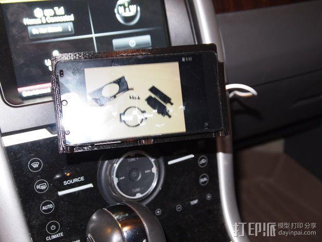 车载式Nexus 5手机充电座  3D模型  图9
