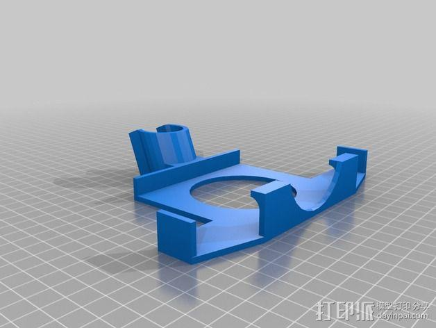 Note 3的三角固定架 3D模型  图2