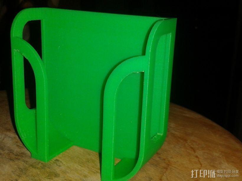 壁挂式手机充电座 3D模型  图1