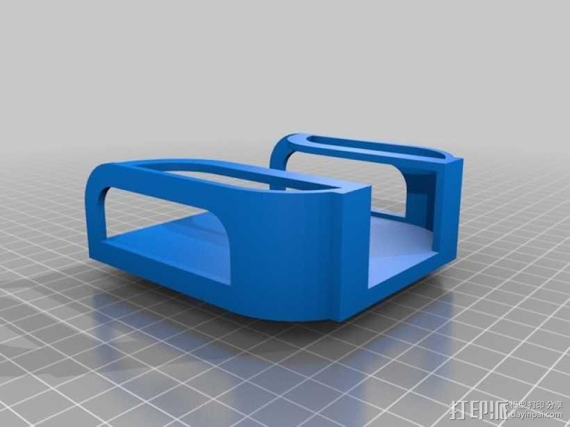壁挂式手机充电座 3D模型  图5