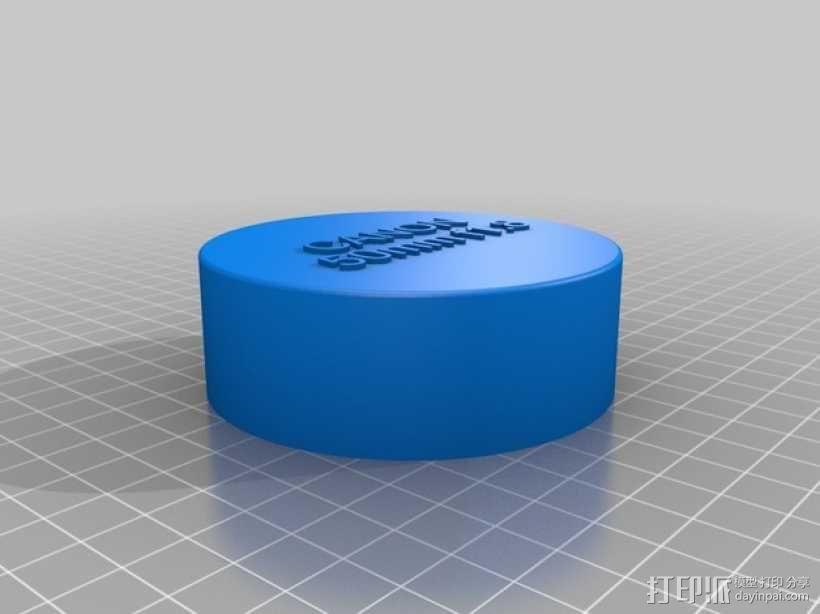 佳能相机镜头盖 3D模型  图2