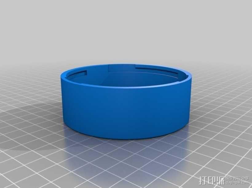 佳能相机镜头盖 3D模型  图1