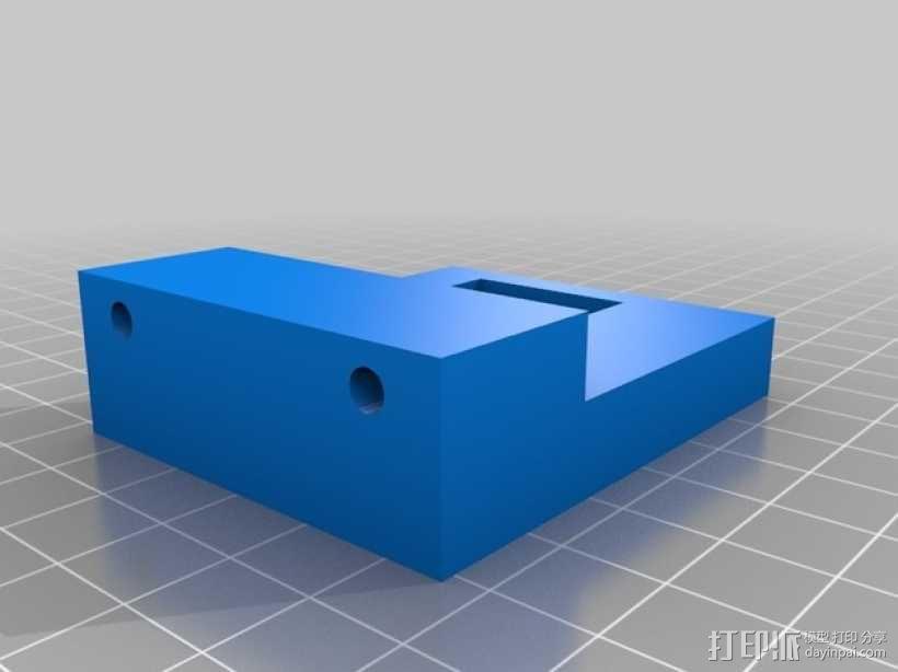 Gopro Hero 3摄像头固定槽 3D模型  图4