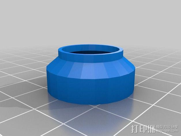 GoPro hero 3+镜头灰尘盖 3D模型  图2