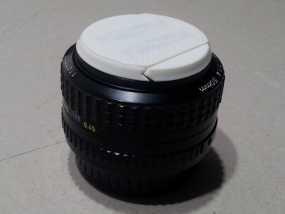 相机镜头盖 3D模型