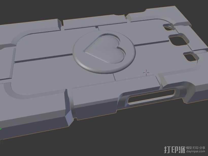 传送门三星Galaxy S3手机套 3D模型  图1
