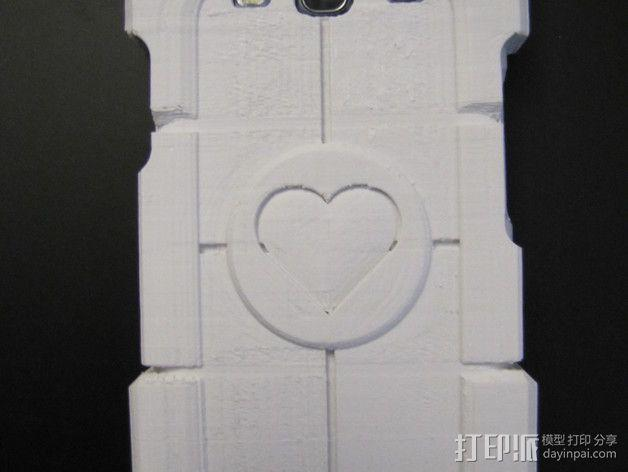 传送门三星Galaxy S3手机套 3D模型  图10