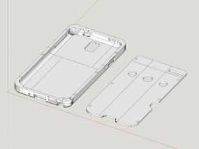 三星Galaxy Note 3外壳 3D模型