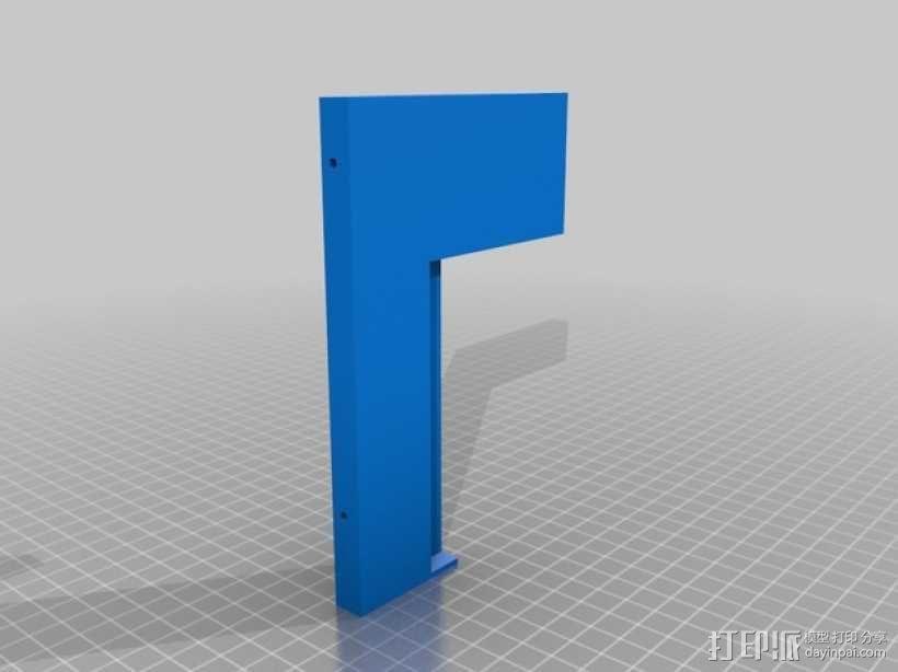 硬盘驱动器适配器 3D模型  图2