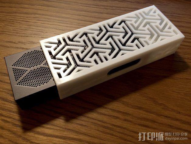 JamboxMini迷你蓝牙音箱外盒 3D模型  图1