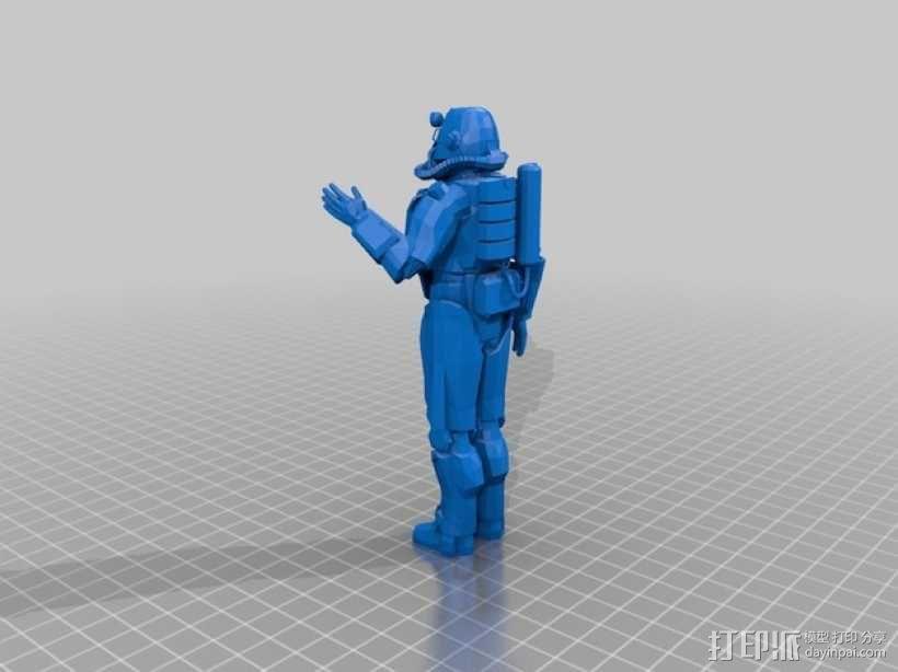 Power Armour动力装甲模型 3D模型  图2