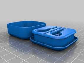 耳机收纳盒 3D模型
