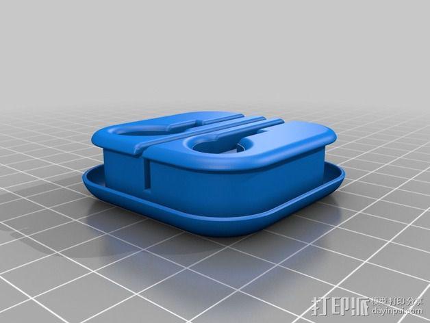 耳机收纳盒 3D模型  图3