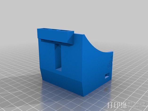 虚拟现实眼镜 谷歌纸盒  3D模型  图2