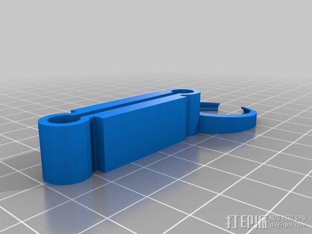 虚拟现实眼镜 谷歌纸盒  3D模型  图3