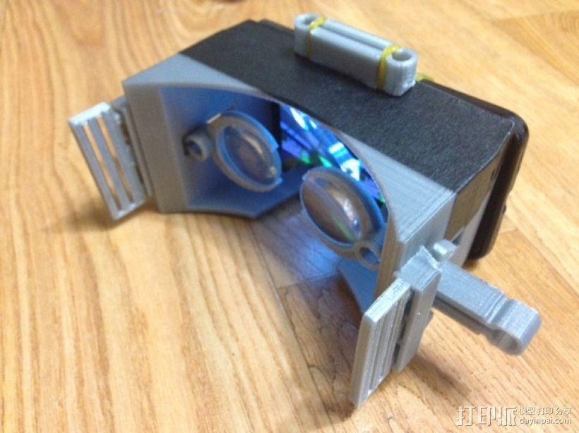 虚拟现实眼镜 谷歌纸盒  3D模型  图10
