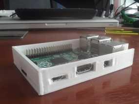 树莓派外盒 3D模型