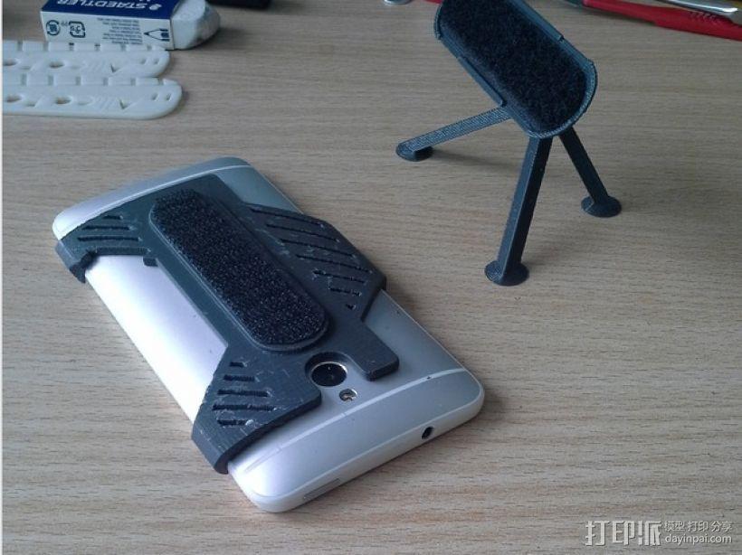 HTC One手机迷你支撑架 3D模型  图1