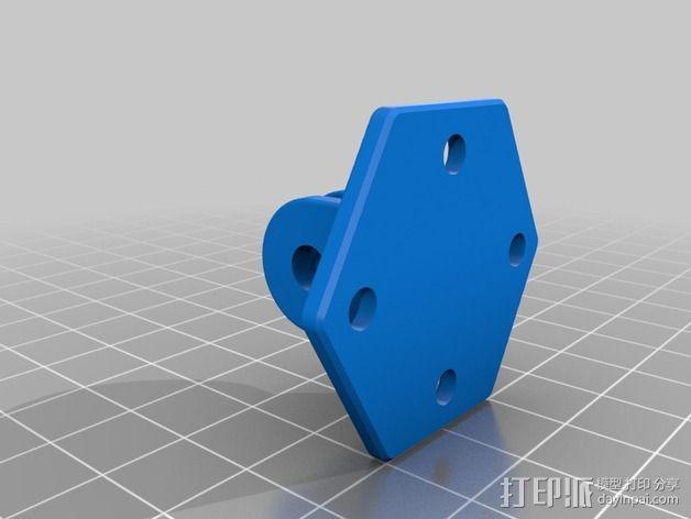 GoPro 相机底座 3D模型  图2