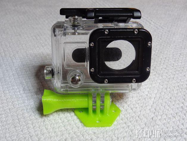 GoPro 相机底座 3D模型  图6