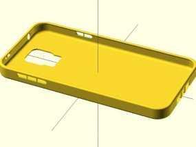 三星s5手机外壳 3D模型