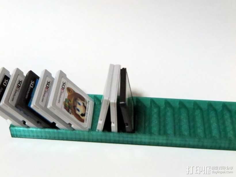 任天堂 3ds 游戏卡收纳盒 3D模型  图3