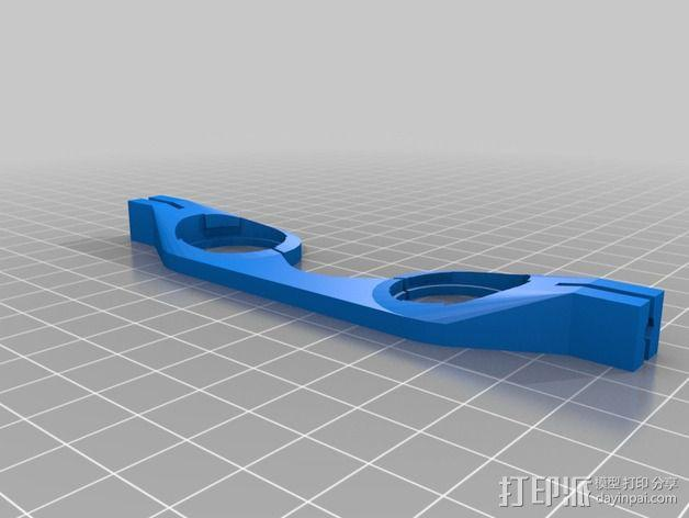 谷歌纸盒 虚拟现实眼镜 3D模型  图2