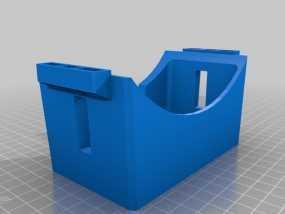 谷歌纸盒 虚拟现实眼镜 3D模型