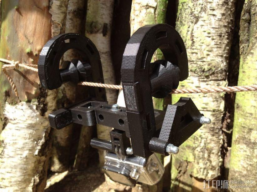 悬挂式相机架 3D模型  图1