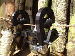 悬挂式相机架 3D模型