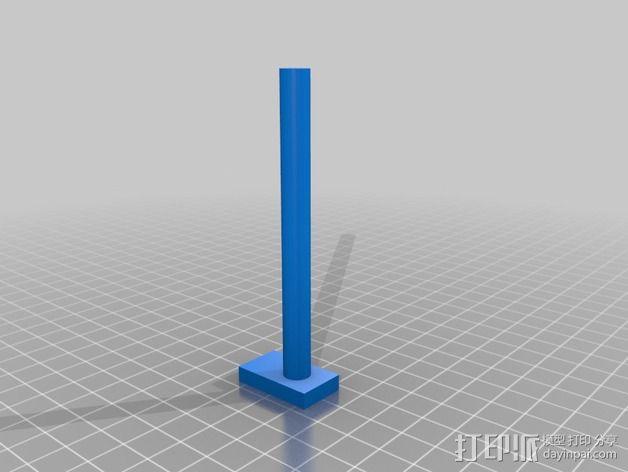 悬挂式相机架 3D模型  图3