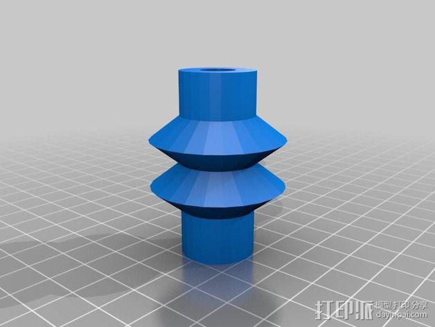 悬挂式相机架 3D模型  图5
