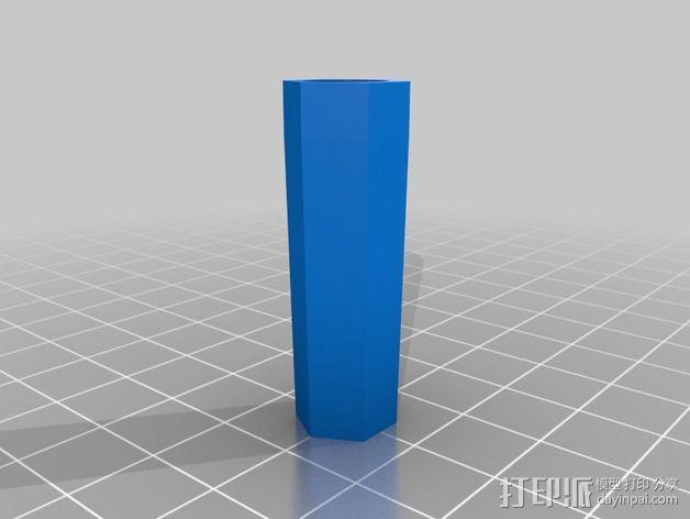 悬挂式相机架 3D模型  图4