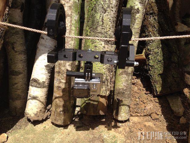 悬挂式相机架 3D模型  图19