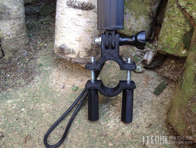 Gopro相机支撑手柄 3D模型  图10