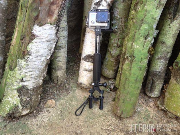 Gopro相机支撑手柄 3D模型  图11